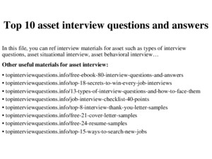 Top 10 scientific writer interview questions and answers