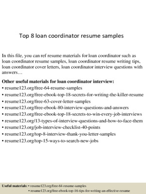 Top 8 staff development coordinator resume samples