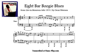 Transcription - Eight Bar Boogie Blues by Oscar Peterson