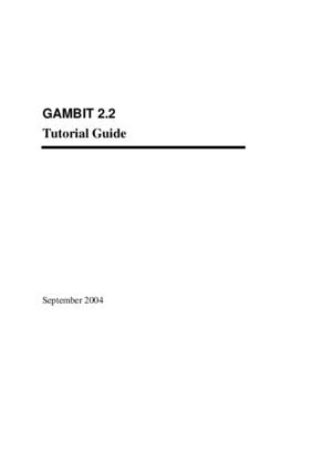 Tutorial Guide Gambit 22