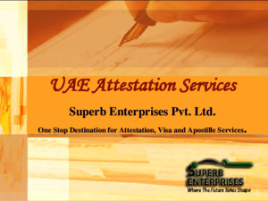 UAE Embassy Certificate Attestation Procedure