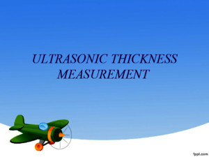 Ultrasonic Thickness Mmt