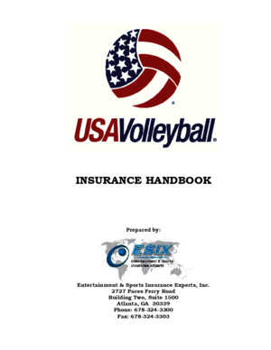 USA Volleyball Handbook 9414