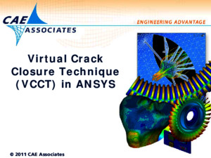 Vcct in Ansys