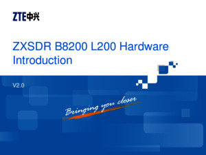 04 LT_SS1001_E01_1 ZXSDR B8200 L200 (V2) Hardware Introduction 36