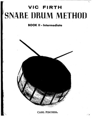 Vic Firth Snare Drum Method - Book 2 Intermediate