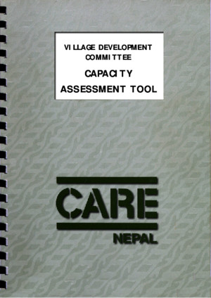 Village Development Committee - Capacity Assessment Tool