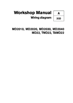 Volvo MD22 Wiring Diagramspdf