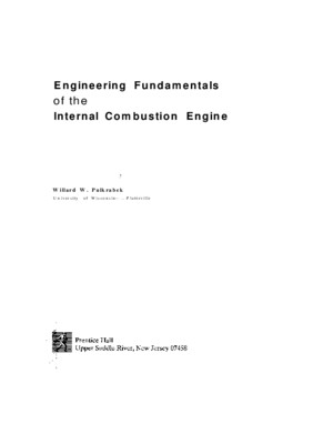 WW Pulkrabek - Engineering Fundamentals of the Internal Combustion Enginepdf