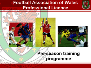 Wales Pre-season Training Plan