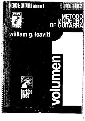 William g Leavittmetodo Moderno de GuitarraenEspanol Vol1 (1)