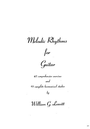 William_Leavitt_-_Melodic_Rhythms_for_Guitarpdf
