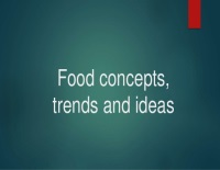 Concepts & Trends